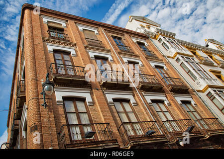 Granada streets in a historic city center - Stock Photo