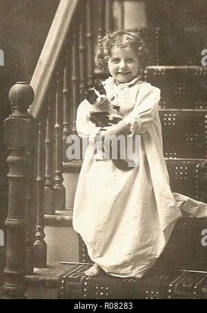 beautiful photo of a vintage victorian lady in period costume dress - Stock Photo