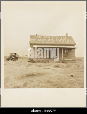 phot from the great depression in america around the 1930s - Stock Photo