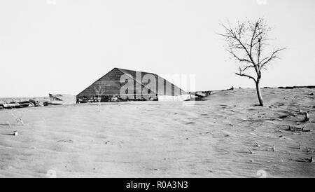 Aftermath of Dust Storm, Colorado, USA, Farm Security Administration, 1935 - Stock Photo