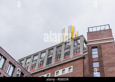 Dortmunder U in Dortmund, Germany - Stock Photo