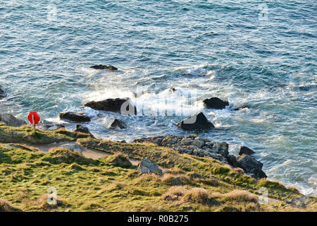 Late evening September in St.Ives, Cornwall - Stock Photo