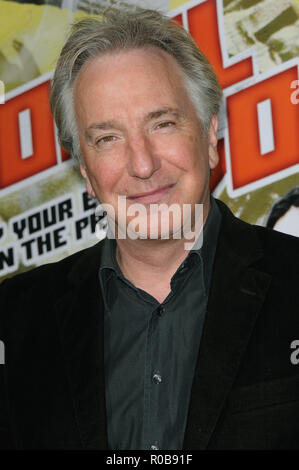 Alan Rickman   -  Nobel Son Premiere at the Egyptian Theatre In Los Angeles.02_RickmanAlan_02 Red Carpet Event, Vertical, USA, Film Industry, Celebrities,  Photography, Bestof, Arts Culture and Entertainment, Topix Celebrities fashion /  Vertical, Best of, Event in Hollywood Life - California,  Red Carpet and backstage, USA, Film Industry, Celebrities,  movie celebrities, TV celebrities, Music celebrities, Photography, Bestof, Arts Culture and Entertainment,  Topix, headshot, vertical, one person,, from the year , 2008, inquiry tsuni@Gamma-USA.com - Stock Photo