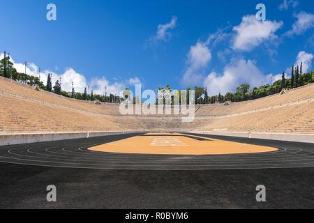 Olympic Stadium - Athens Greece - Stock Photo