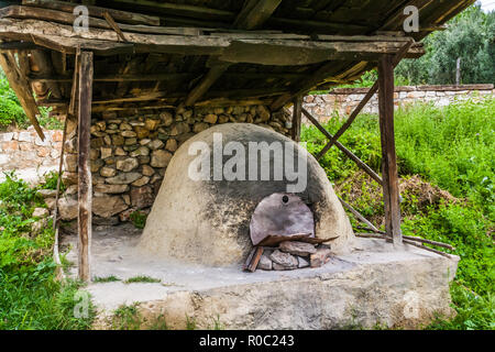Iznik, Turkey, May 10, 2012: Traditional communal bread oven in Omerli village. - Stock Photo