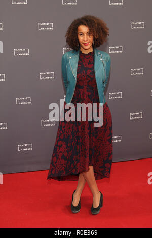 Guests at Filmfest Hamburg, 03.10.2018  Featuring: Sofia Djama 'The Blessed' Where: Hamburg, Germany When: 03 Oct 2018 Credit: Becher/WENN.com - Stock Photo
