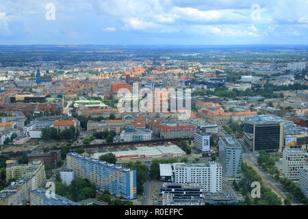 The beautiful City of Wroclaw in Poland - Stock Photo