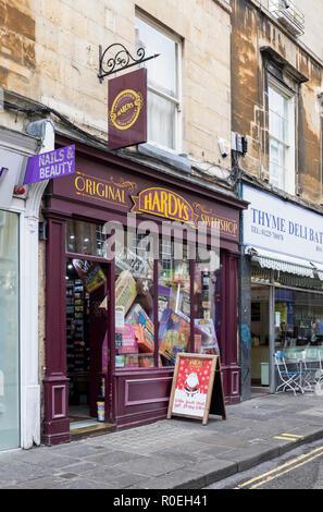 Hardy's Original Sweetshop, Westgate St, Bath, England - Stock Photo