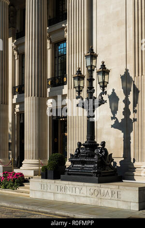 Four Seasons Hotel London, Ten Trinity Square, London, England, U.K. - Stock Photo