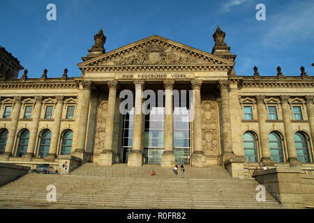 Reichstag building. Berlin. Germany. - Stock Photo