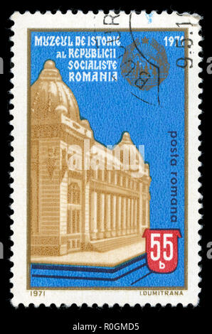 Postage stamp from Romania in the National museum of history series issued in 1971 - Stock Photo