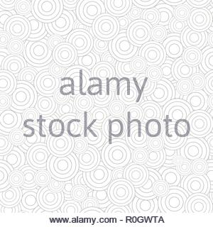 Abstract seamless pattern of circles - Stock Photo