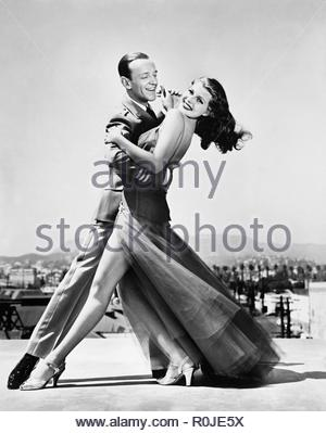 Original film title: YOU'LL NEVER GET RICH. English title: YOU'LL NEVER GET RICH. Year: 1941. Director: SIDNEY LANFIELD. Stars: FRED ASTAIRE; RITA HAYWORTH. Credit: COLUMBIA PICTURES / Album - Stock Photo