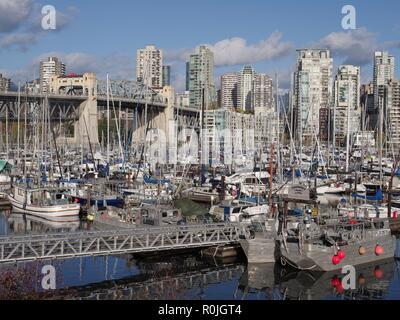 Fisherman's Wharf, Vancouver, British Columbia, Canada, Brian Martin RMSF, large file size - Stock Photo