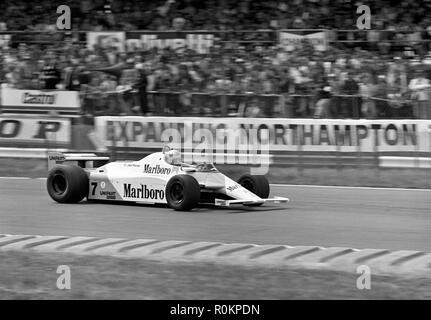 1981 McLaren MP4-1 John Watson. Winner 1981 British Grand Prix, Silverstone - Stock Photo