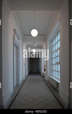 Wien, Finanzamt für den 8., 16., 17. Bezirk, Josefstädterstraße 39, Palais Strozzi - Stock Photo