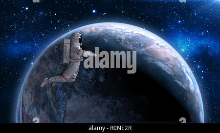 astronaut drifts into space - photo #46