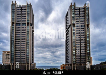 Torres de Santa Cruz - is the name of two similar residential towers in the district of Cabo Llanos. The buildings were designed by architect Julián V