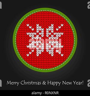 Christmas decoration. Xmas star in scandinavian style - Stock Photo