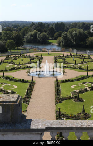 Hampton Court Palace, Surrey, UK. 1st September, 2018. - Stock Photo
