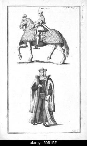 King Louis XII, (c1760). Creator: Unknown. - Stock Photo