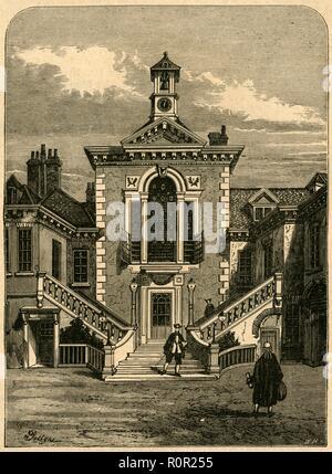 'Old Serjeants' Inn', 1878, (1897). Creator: Unknown. - Stock Photo