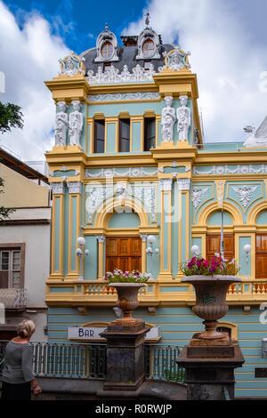 The history in Santa Cruz - the capital of Tenerife.