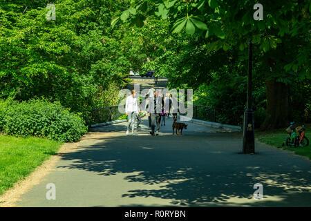 Regent's Park, London, United Kingdom - Stock Photo