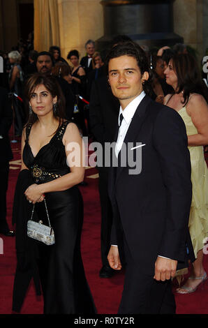 Orlando Bloom arriving at the 77th annual Oscar's.            -            BloomOrlando039.jpgBloomOrlando039  Event in Hollywood Life - California, R - Stock Photo