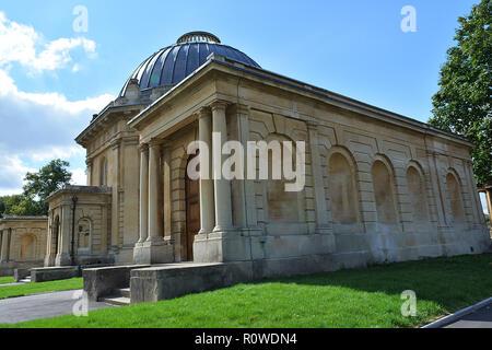 Brompton Cemetery, London, UK. - Stock Photo