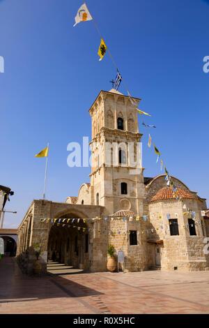 Agios Lazarus church, Larnaca, Cyprus October 2018 - Stock Photo