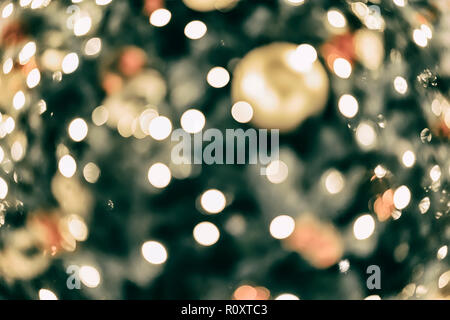 Abstract colorful bokeh design, holiday background, multicolored rainbow effect. Festive occasions concept, holiday, Christmas, New Year backdrop - Stock Photo
