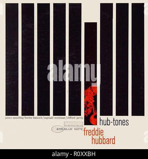 FREDDIE HUBBARD - HUB-TONES - Vintage cover album - Stock Photo