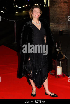 London, UK. 7th Nov 2018. Camilla Rutherford arrivers at DKMS is the world's largest international donor centre. So far they have helped to register over 8 million potential donors and facilitated over 70,000 blood stem cell transplants worldwide Big Love London Gala at The Round House on 7 November 2018, London, UK Credit: Picture Capital/Alamy Live News Stock Photo