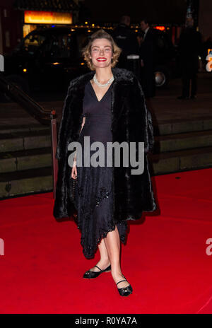 London, UK. 7th Nov 2018. Camilla Rutherford attends the Second Annual DKMS Big Love Gala at The Roundhouse on November 7, 2018 in London, England. Credit: Gary Mitchell, GMP Media/Alamy Live News Stock Photo