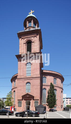 Paulskirche, Frankfurt, Hesse, Germany, Europe   I Paulskirche ,  Frankfurt am Main, Hessen, Deutschland, Europe I - Stock Photo