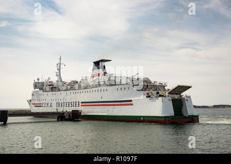 CTMA ferry Madeleine runs between Souris, PEI, and the Magdalen Islands, Quebec, Canada. - Stock Photo