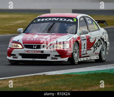 James Dodd, Honda Accord, Super Touring Trophy, Silverstone Classic, July 2018, Silverstone, Northamptonshire, England, circuit racing, cjm-photograph - Stock Photo