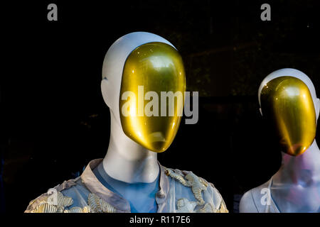 Abstract image of Shop Mannequin - Stock Photo