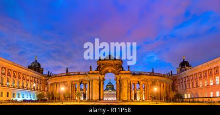 The Communs, a building of the Potsdam University near the New Palace. Germany - Stock Photo