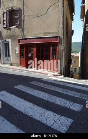 french hilly medieval street in the town of monflanquin lot et stock photo 21278721 alamy. Black Bedroom Furniture Sets. Home Design Ideas
