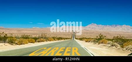 Career Road - Stock Photo