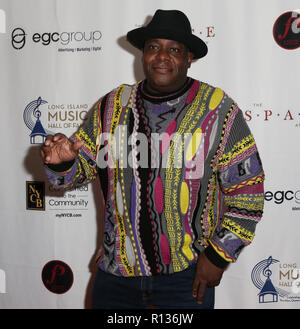 Westbury, New York, USA. 8th Nov 2018. DJ Chuck Chillout attends the 2018 Long Island Music Hall of Fame induction ceremony at The Space at Westbury on November 8, 2018 in Westbury, New York. Credit: AKPhoto/Alamy Live News - Stock Photo