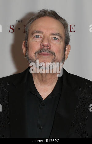 Westbury, New York, USA. 8th Nov 2018. Songwriter Jimmy Webb attends the 2018 Long Island Music Hall of Fame induction ceremony at The Space at Westbury on November 8, 2018 in Westbury, New York. Credit: AKPhoto/Alamy Live News - Stock Photo
