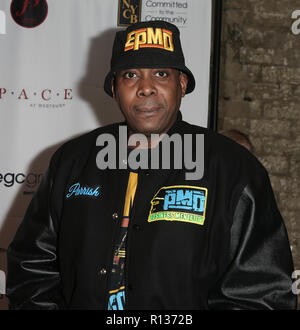 Westbury, United States. 08th Nov, 2018. WESTBURY, NY - NOV 8: Rapper Parrish Smith of EPMD attends the 2018 Long Island Music Hall of Fame induction ceremony at The Space at Westbury on November 8, 2018 in Westbury, New York. Credit: The Photo Access/Alamy Live News - Stock Photo