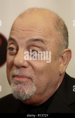 Westbury, United States. 08th Nov, 2018. WESTBURY, NY - NOV 8: Singer Billy Joel attends the 2018 Long Island Music Hall of Fame induction ceremony at The Space at Westbury on November 8, 2018 in Westbury, New York. Credit: The Photo Access/Alamy Live News - Stock Photo