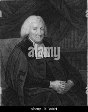 Rev Prof Hugh Blair FRSE (7 April 1718 – 27 December 1800) was a Scottish minister of religion, author and rhetorician, considered one of the first great theorists of written discourse. - Stock Photo