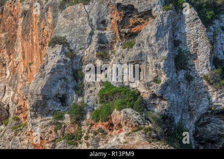 Cales Coves, Menorca, Balearic Islands, Spain, Europe - Stock Photo