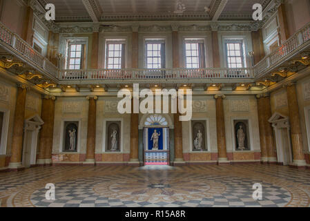 Interior of Wentworth Woodhouse near Rotherham, South Yorkshire, UK. - Stock Photo