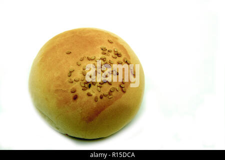 small breads with sesame - Stock Photo